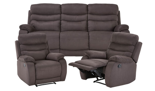 Recliner Package  -Sofa and Armchairs